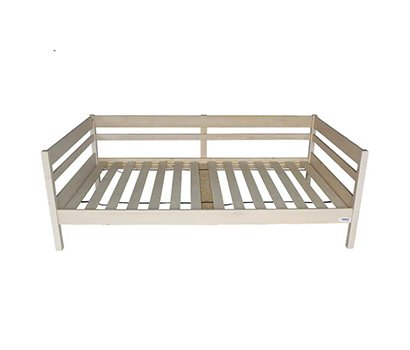SS bed with whitewash