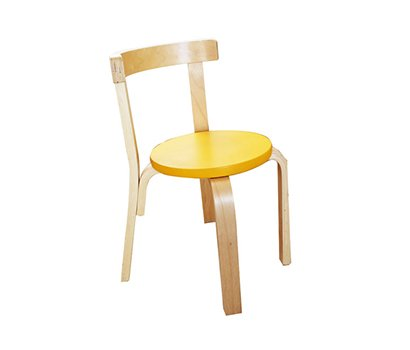 Yellow baby chair