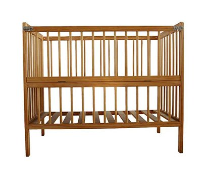 NO painting baby cot with locker
