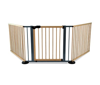 wooden playpen with 4extension