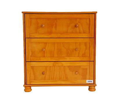 Wooden Storage Cabinet With 3 Drawer