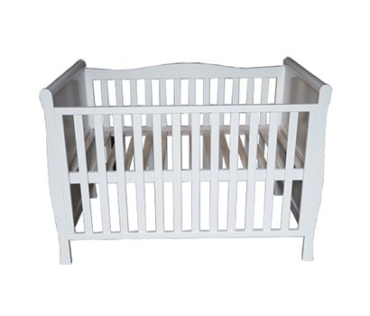 Side wave shape Baby cot