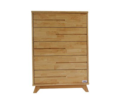 Wooden Cabinet With 5 Drawer